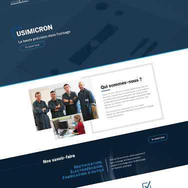 Visuel Site Usimicron