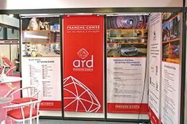 Visuel ARD toiles stand