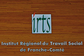 Visuel IRTS signaletique batiment