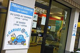 Visuel Garage à Max affiches
