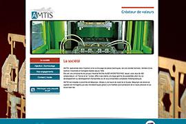 Visuel site AMTIS