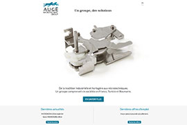 Visuel Site Augé Microtechnic Group