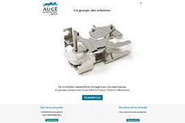 Visuel Site Augé Microtechnic Group
