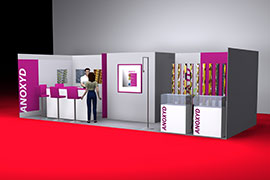 Visuel Stand Anoxyd