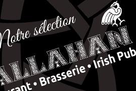Visuel Callahan carte whiskies